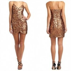 French connection sequin cocktail dress